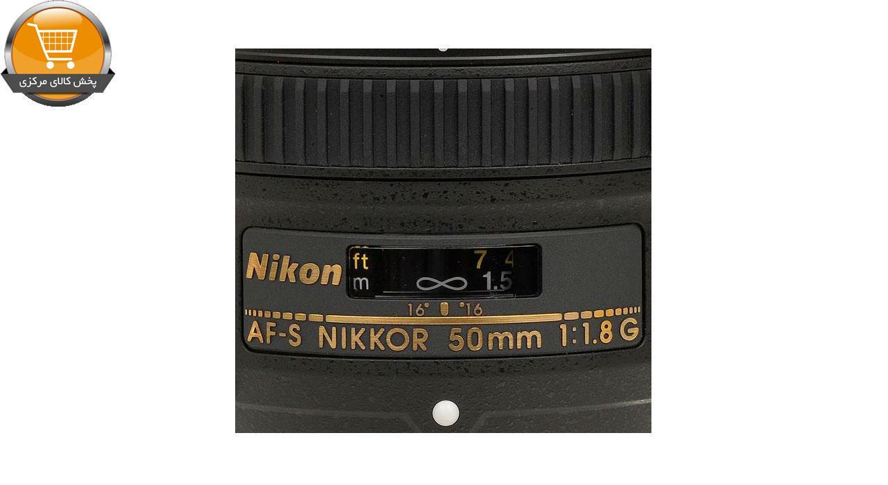 لنز نیکون 50mm f/1.8G AF-S | پخش کالای مرکزی