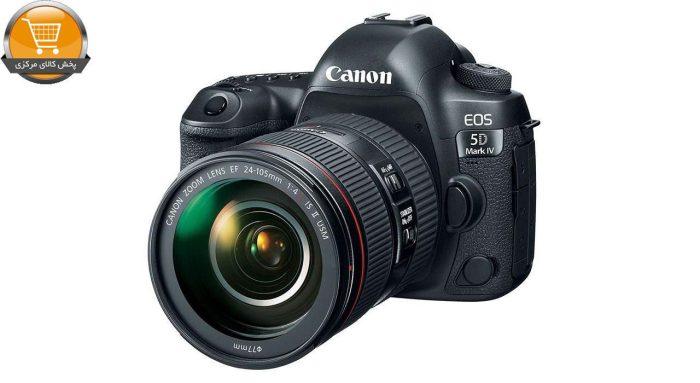دوربین دیجیتال کانن مدل EOS 5D Mark IV به همراه لنز 24-105 میلی متر F4 L IS II | پخش کالای مرکزی