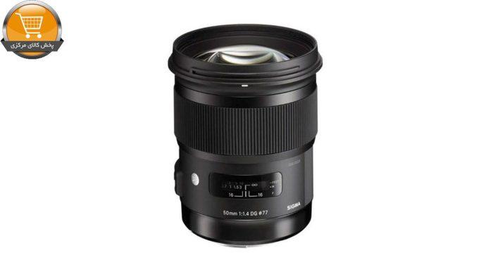 لنز سیگما 50mm f/1.4 DG HSM Art | پخش کالای مرکزی