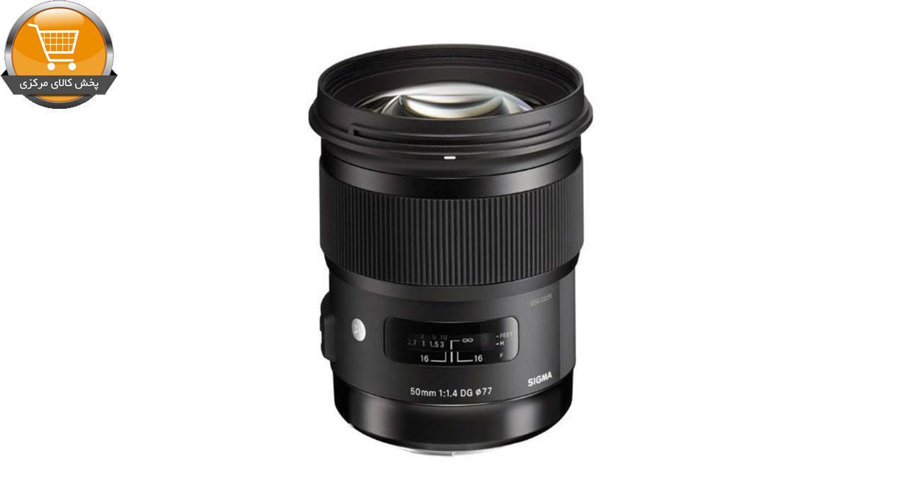 لنز سیگما 50mm f/1.4 DG HSM Art   پخش کالای مرکزی