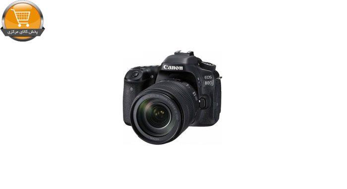 دوربین دیجیتال کانن مدل Eos 80D EF S به همراه لنز 18-135 میلی متر f/3.5-5.6 IS USM | پخش کالای مرکزی