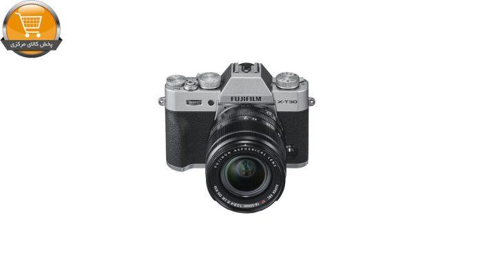 دوربین دیجیتال بدون آینه فوجی فیلم مدل X-T30 همراه با لنز 18-55 میلیمتر | پخش کالای مرکزی