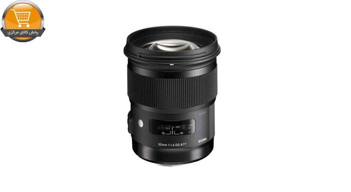 لنز سیگما مدل 50mm f/1.4 DG HSM Art for Nikon Cameras Lens | پخش کالای مرکزی