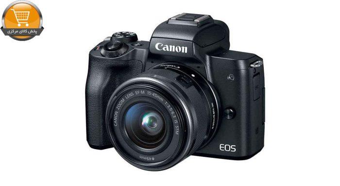دوربین دیجیتال بدون آینه کانن مدل EOS M50 به همراه لنز 15-45 میلی متر | پخش کالای مرکزی