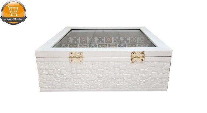 جعبه چای کیسه ای مدل 34196 | پخش کالای مرکزی