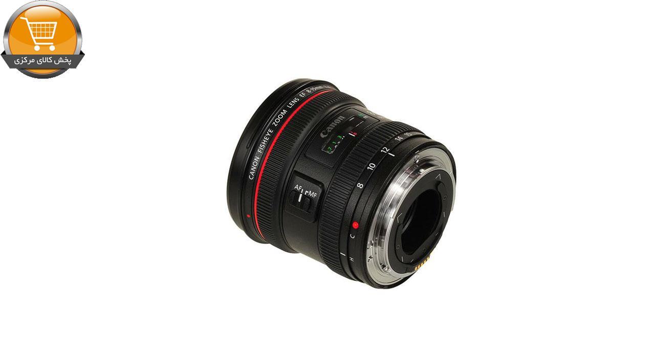 لنز کانن مدل EF 8-15mm f/4L USM Fisheye | پخش کالای مرکزی