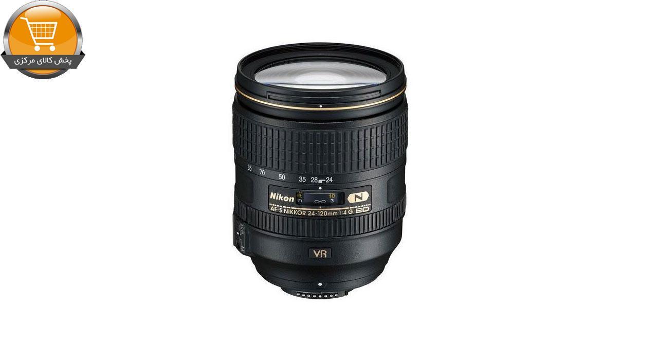 لنز دوربین نیکون AF-S 24-120mm F/4G ED VR | پخش کالای مرکزی