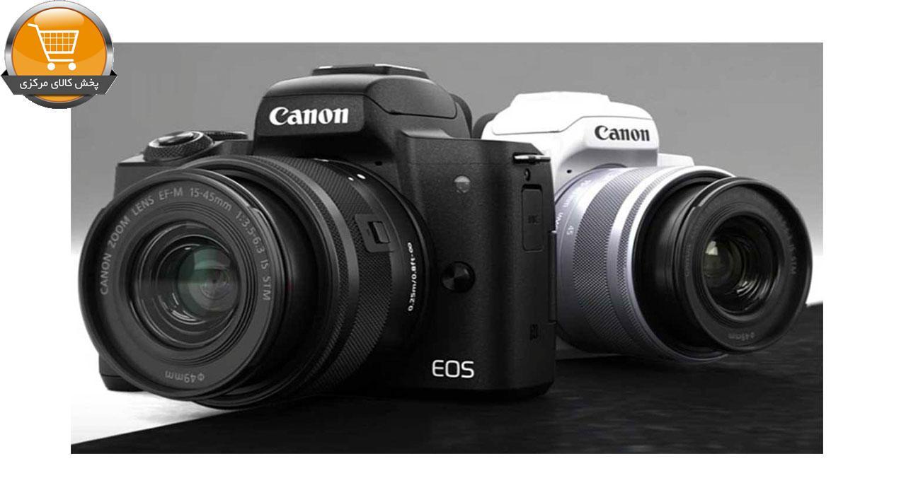 دوربین دیجیتال بدون آینه کانن مدل EOS M50 به همراه لنز 15-45 میلی متر   پخش کالای مرکزی
