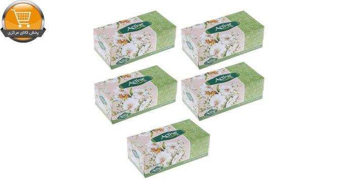 دستمال کاغذی 150 برگ اکتیو مدل A3M9007 بسته 5 عددی | پخش کالای مرکزی