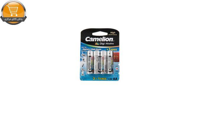 باتری قلمی و نیمقلمی کملیون مدل Digi Alkaline بسته 8 عددی | پخش کالای مرکزی