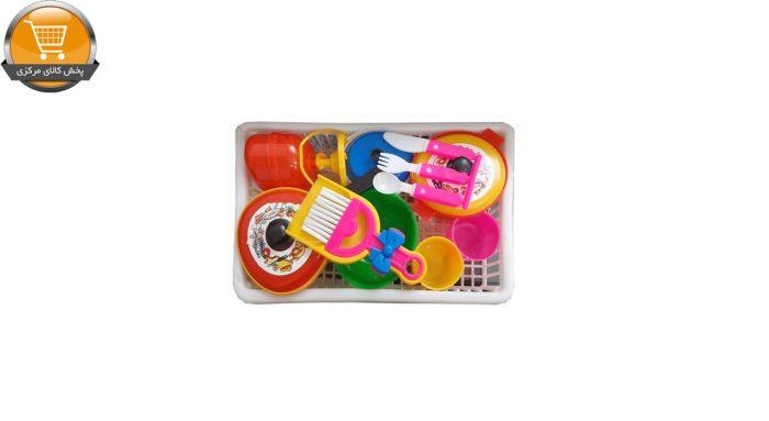 ست اسباب بازی آشپزخانه مدل گل خانوم کد 2 | پخش کالای مرکزی