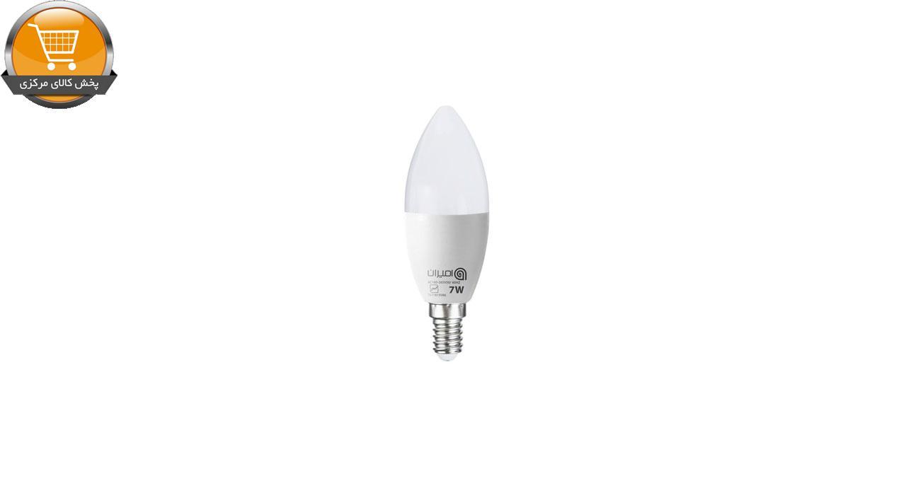 لامپ ال ای دی 7 وات امیران مدل شمعی پایه E14 | پخش کالای مرکزی