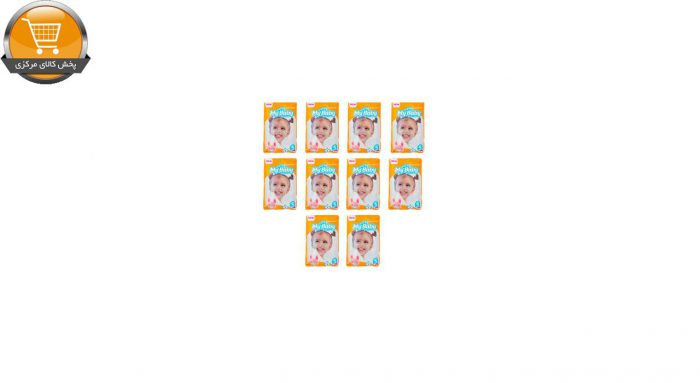 پوشک کودک مای بیبی مدل خانواده شاد بسته 8 عددی مجموعه 10 عددی | پخش کالای مرکزی