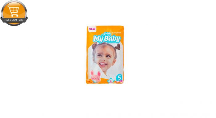 پوشک کودک مای بیبی مدل خانواده شاد بسته 8 عددی مجموعه 5 عددی | پخش کالای مرکزی