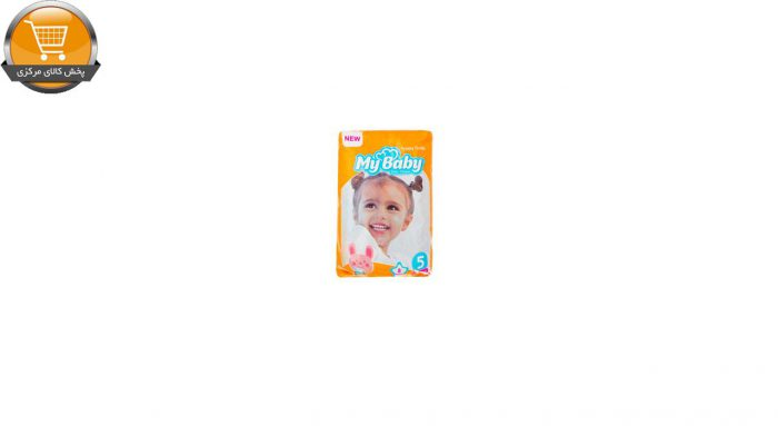 پوشک کودک مای بیبی مدل خانواده شاد سایز 5 بسته 8 عددی مجموعه 3 عددی | پخش کالای مرکزی