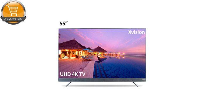 تلویزیون ال ای دی هوشمند ایکس ویژن مدل 55XTU745 سایز 55 اینچ | پخش کالای مرکزی