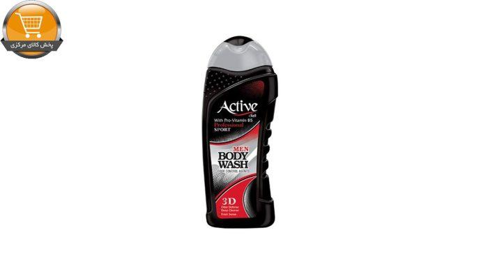 شامپو بدن مردانه اکتیو سری Sport مدل Black مقدار 700 گرم | پخش کالای مرکزی