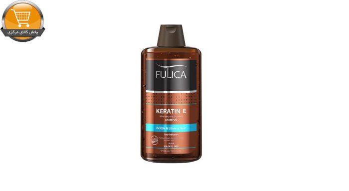 شامپو تقویت کننده مو فولیکا مدل Keratin E حجم 400 میلی لیتر | پخش کالای مرکزی