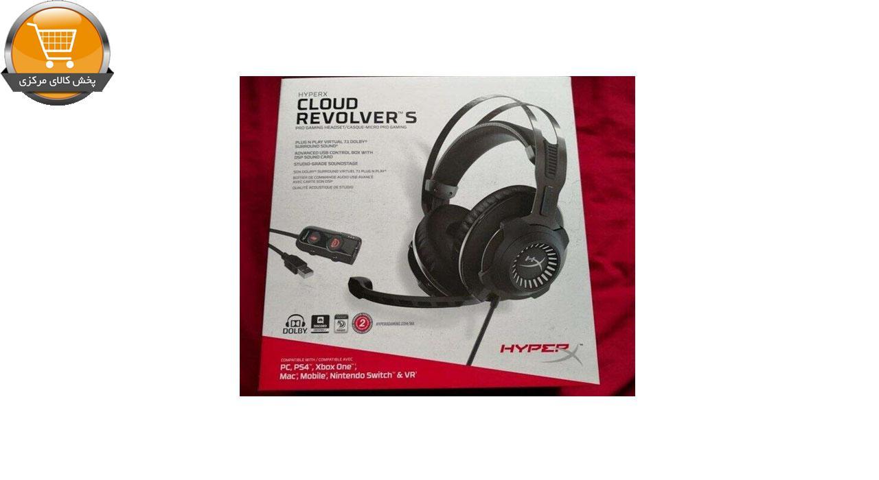 هدست مخصوص بازی هایپرایکس مدل Cloud Revolver S   پخش کالای مرکزی