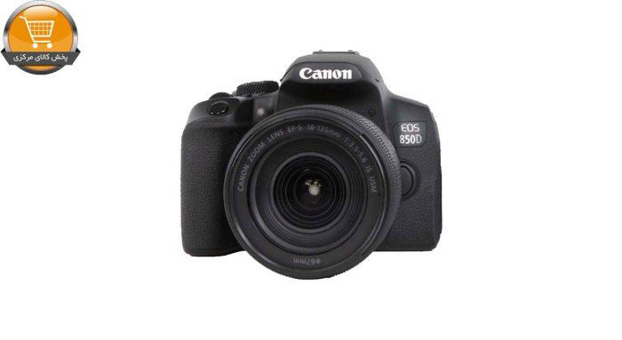دوربین دیجیتال کانن مدل EOS 850D به همراه لنز 18-135 میلی متر IS USM | پخش کالا مرکزی
