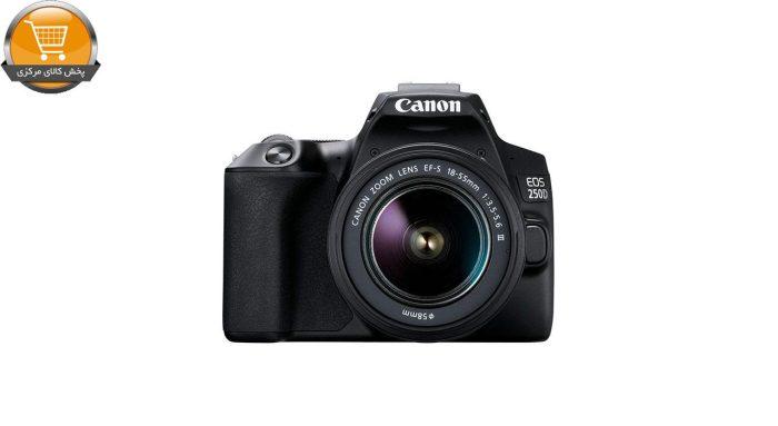 دوربین دیجیتال کانن مدل EOS 250D به همراه لنز 18-55 میلی متر DC III | پخش کالا مرکزی