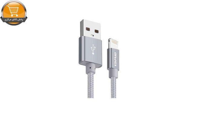 کابل تبدیل USB به لایتنینگ اوی مدل CL-988 به طول 30 سانتی متر | پخش کالا مرکزی