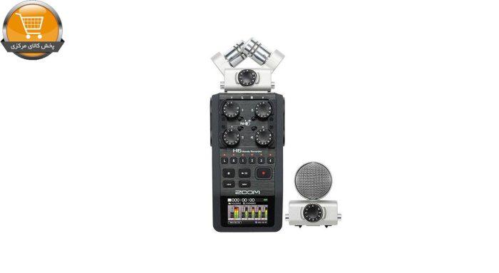 ضبط کننده حرفه ای صدا زوم مدل H6   پخش کالا مرکزی