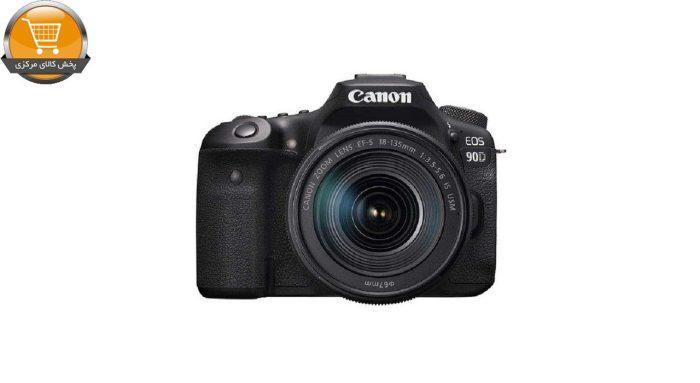 دوربین دیجیتال کانن مدل EOS 90D به همراه لنز 135-18 میلی متر IS USM | پخش کالا مرکزی