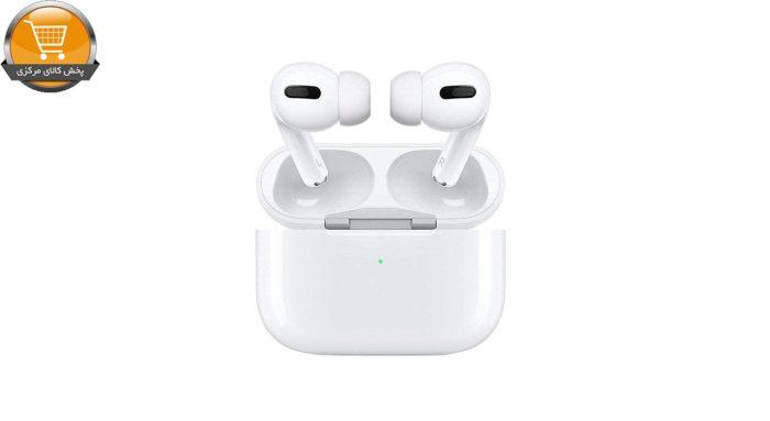 هدفون بی سیم اپل مدل AirPods Pro همراه با محفظه شارژ | پخش کالا مرکزی
