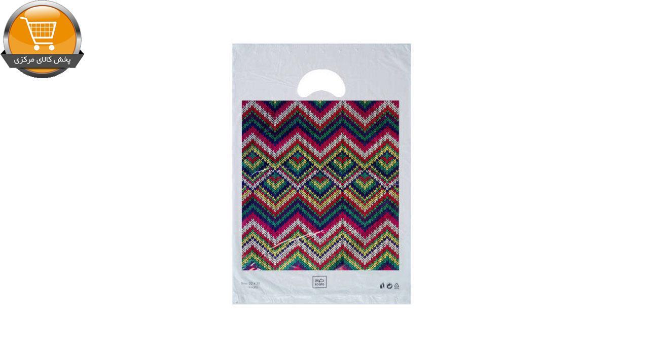 کیسه خرید کوالا مدل 3421302 بسته 100 عددی | پخش کالای مرکزی