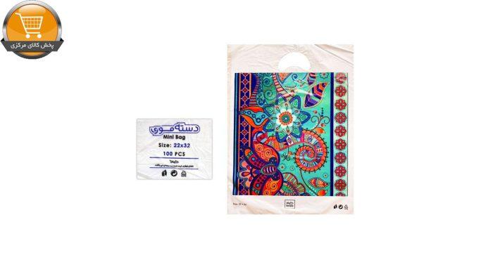 کیسه خرید کوالا مدل 3421301 بسته 100 عددی | پخش کالای مرکزی