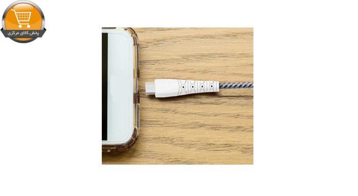 کابل تبدیل USB به USB-C هانروکس مدل C40 طول 1 متر   پخش کالای مرکزی