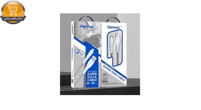 کابل تبدیل USB به microUSB هانروکس مدل C10 طول 1 متر | پخش کالای مرکزی