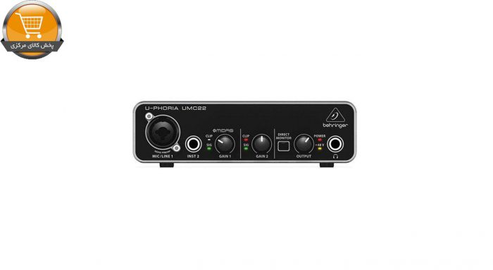 کارت صدای استودیو بهرینگر مدل UMC22 | پخش کالای مرکزی