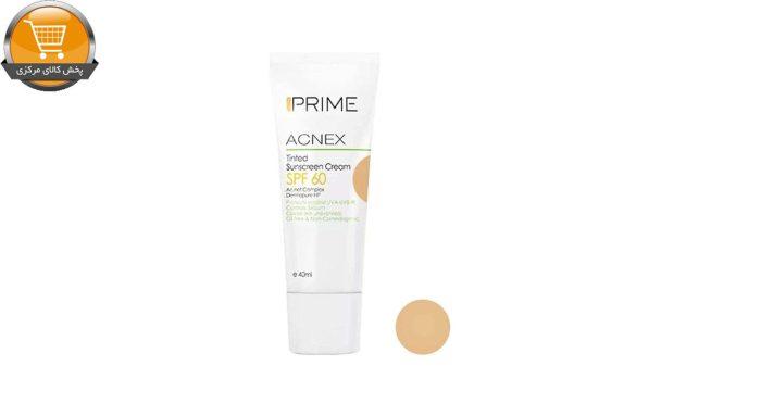 کرم ضد آفتاب پریم مدل Acnex حجم 40 میلی لیتر | پخش کالای مرکزی