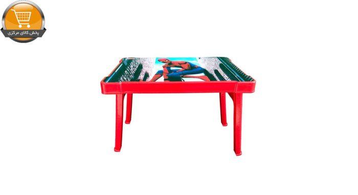 میز کودک مدل 0404 طرح مرد عنکبوتی | پخش کالای مرکزی