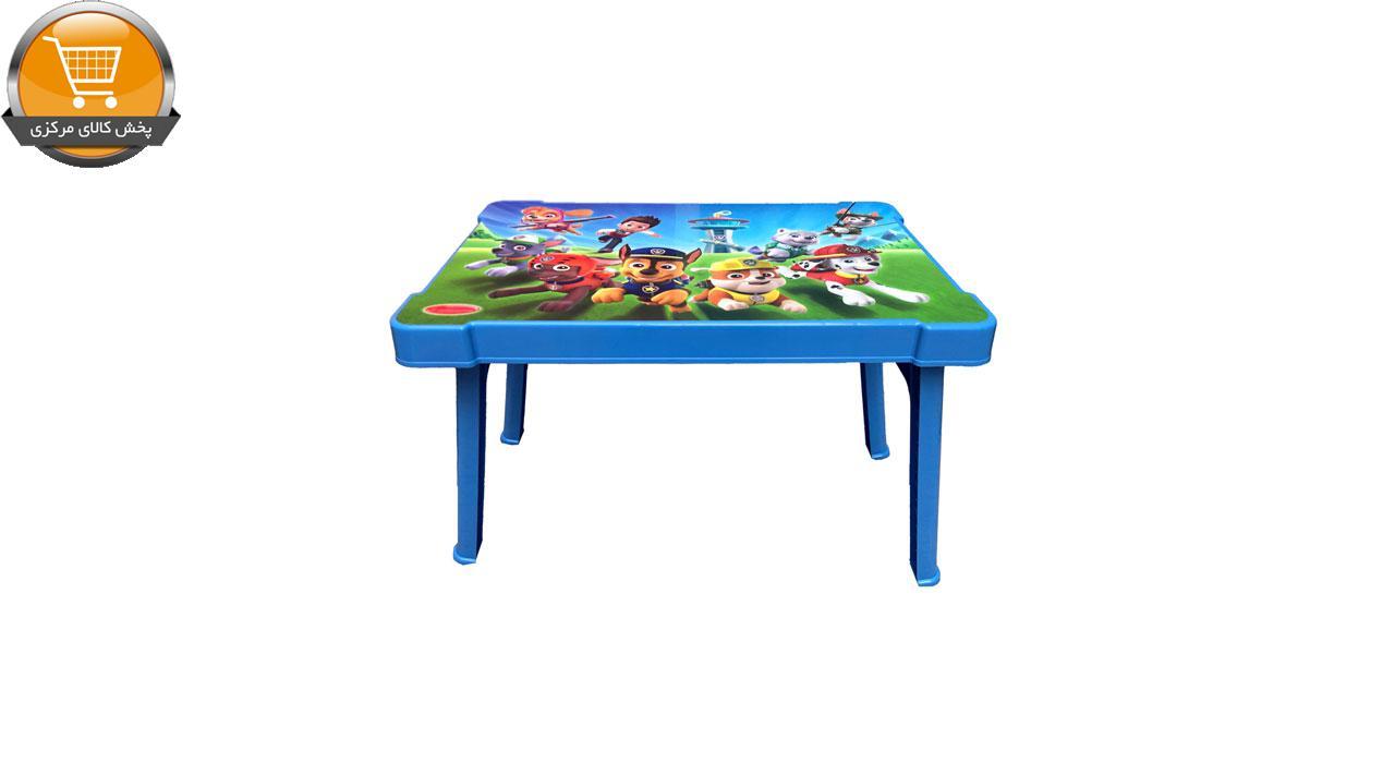 میز کودک طرح سگ نگهبان مدل 0403 | پخش کالای مرکزی