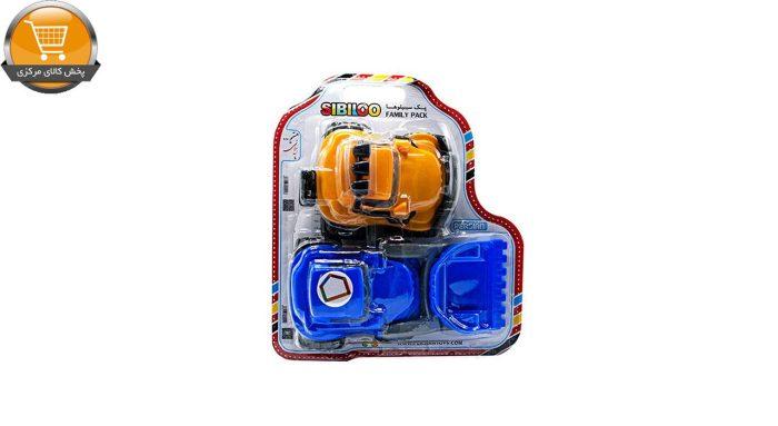 ماشین بازی مدل لودر و آفرود مجموعه 2 عددی | پخش کالای مرکزی