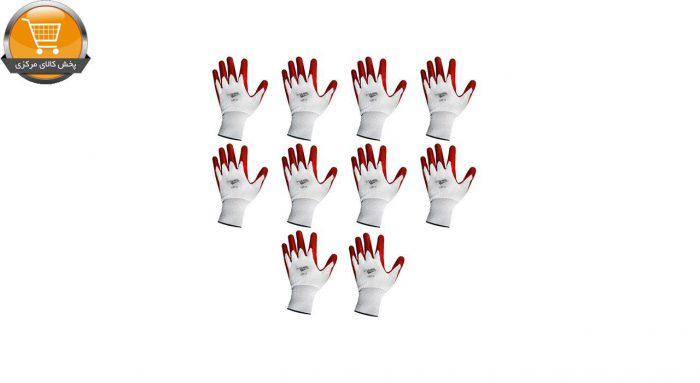 دستکش ایمنی کوئیک کلین مدل R2360 مجموعه 10 عددی | پخش کالای مرکزی