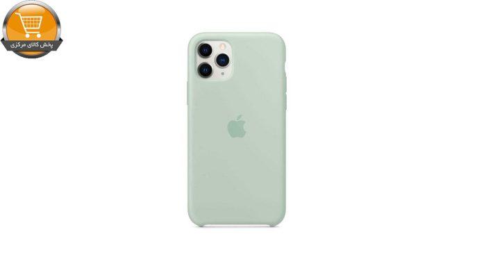کاور مدل سیلیکونی مناسب برای گوشی موبایل اپل Iphone 11 pro   پخش کالای مرکزی