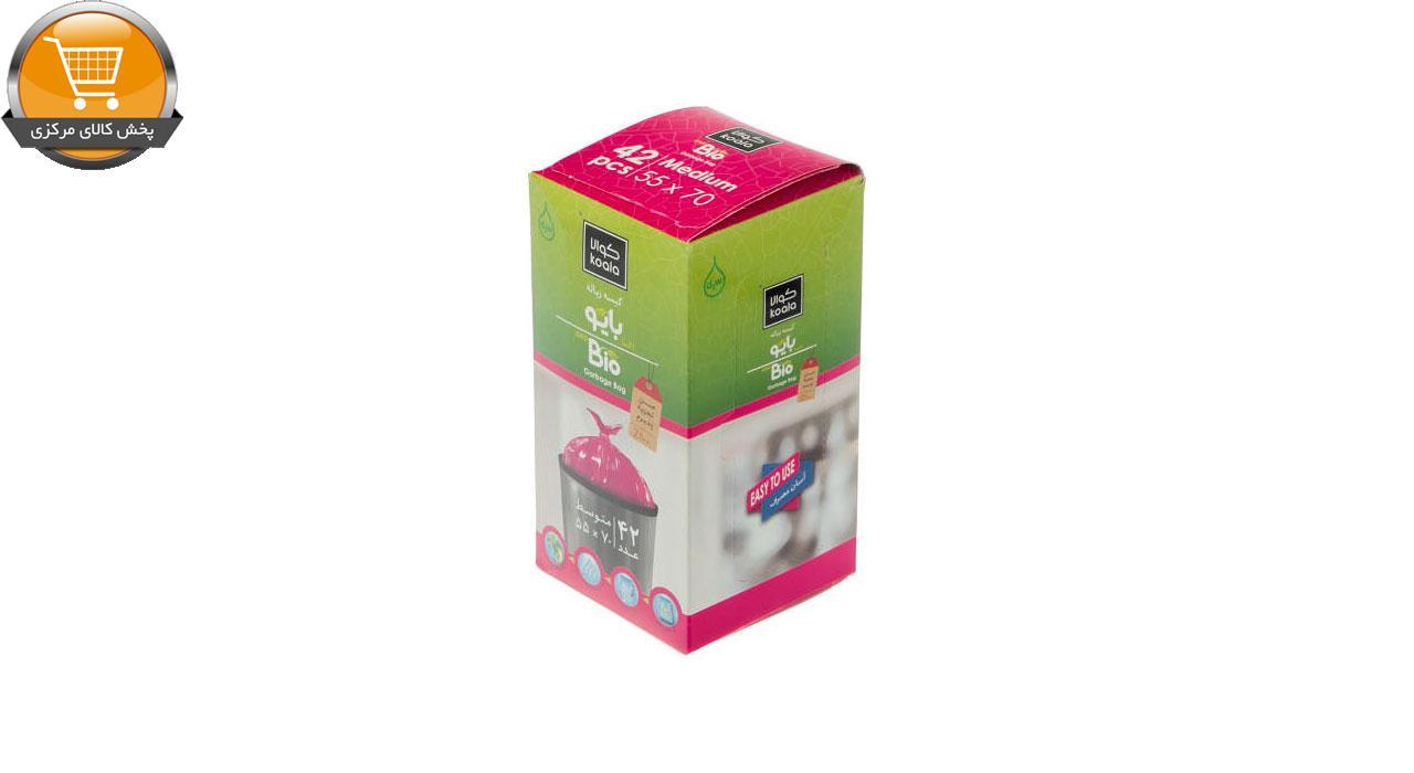 کیسه زباله کوالا مدل LP573 بسته 42 عددی | پخش کالای مرکزی