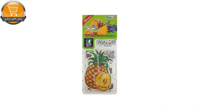 خوشبو کننده خودرو واتسون مدل Card-Pineapple   پخش کالای مرکزی