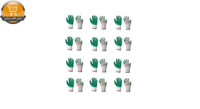 دستکش ایمنی تانگ وانگ کد 02 بسته 12 عددی | پخش کالای مرکزی