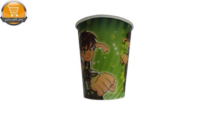 پیش دستی و لیوان یکبار مصرف مستر تم طرح بن تن مجموعه 20 عددی | پخش کالای مرکزی
