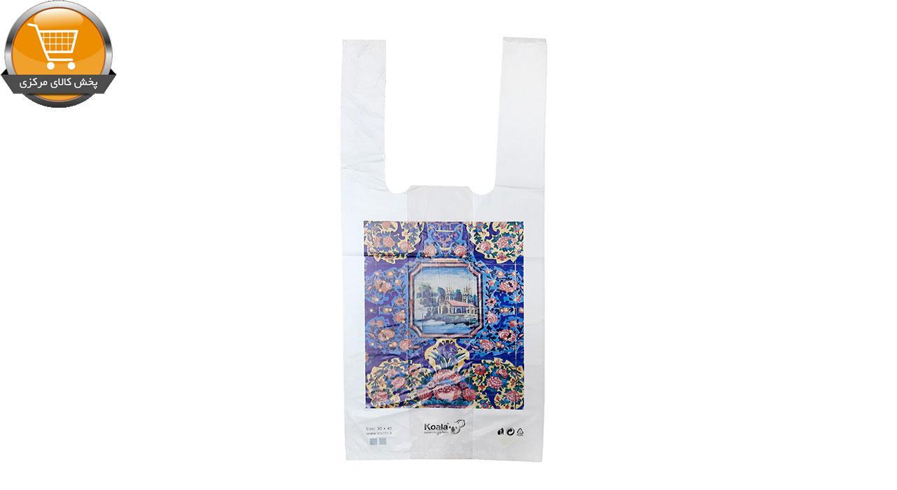 کیسه خرید کوالا مدل 1701 بسته 100 عددی | پخش کالای مرکزی