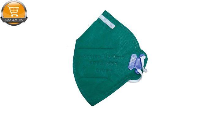 ماسک تنفسی 6 لایه N95 سوپاپ فیلتر دار سبز 12 عددی | فروشگاه پخش گالای مرکزی