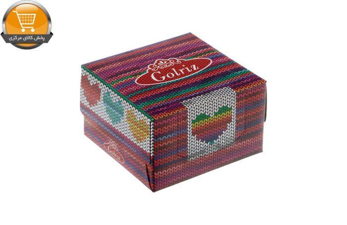 دستمال کاغذی 50 برگ گلریز گلدار طرح بافتینه | فروشگاه پخش کالای مرکزی