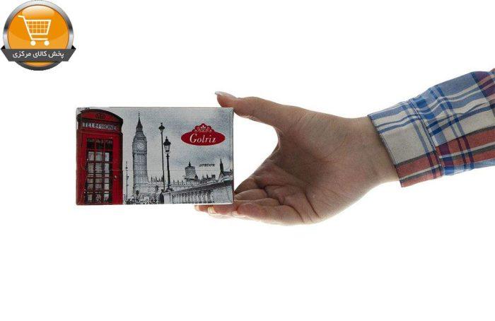 دستمال کاغذی 50 برگ گلریز گلدار طرح لندن | فروشگاه پخش کالای مرکزی