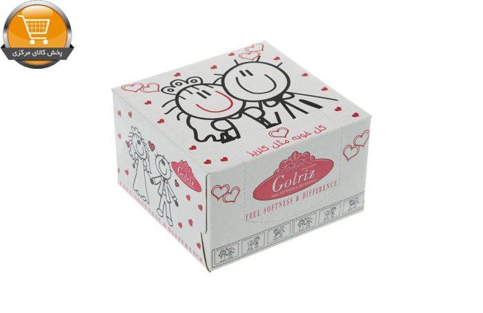 دستمال کاغذی 50 برگ گلریز گلدار طرح روياي کودکانه | فروشگاه پخش کالای مرکزی