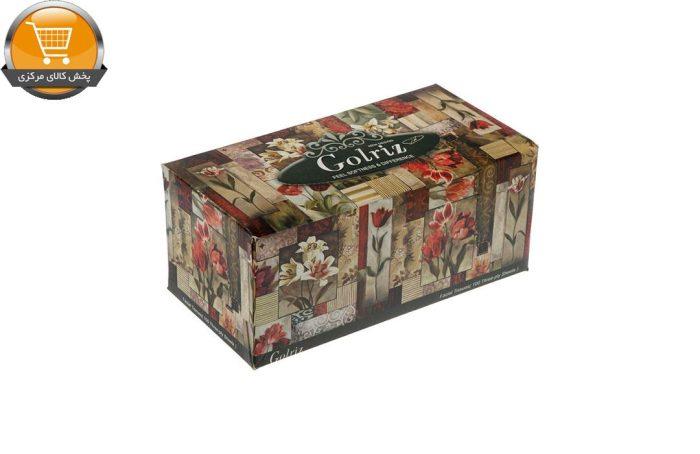 دستمال کاغذی 100 برگ گلریز گلدار طرح شقايق | فروشگاه پخش کالای مرکزی